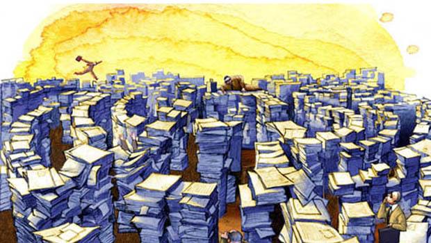 A burocracia brasileira é  mais kafkiana do que Kafka