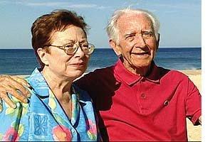 Apolônio de Carvalho e Reneé sua mulher