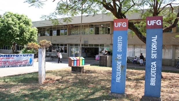 Fachada da Faculdade de Direito da UFG, no Setor Universitário, em Goiânia | Foto: Reprodução/UFG