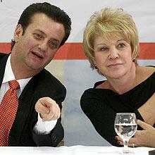 Gilberto Kassab e Marta Suplicy