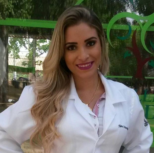 Veterinária Flávia Cristina do Carmo: depois de ver uma reportagem na TV, a iniciativa solidária