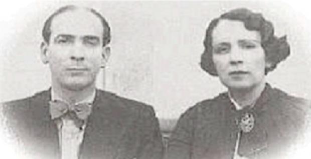 O casal Pedro Ludovico e Gercina Borges: médico relembra encontro marcante com o líder político goiano