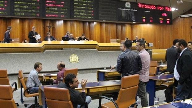 """Uma vez o decreto publicado, a gestão pode fazer o que quiser, junto com a Câmara e seus vereadores, em relação à destinação de áreas públicas""""   Foto: Divulgação Câmara Municipal de Goiânia / Marcelo do Vale"""