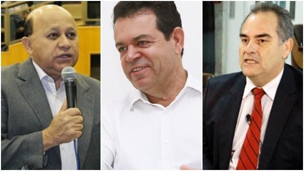Djalma Araújo Aguimar Jesuíno e Edson Braz são alguns dos nomes cotados para a pré-candidatura da Rede em Goiânia   Fotos: Reprodução-Câmara Municipal / Fernando Leite-Jornal Opção / Reprodução-Facebook
