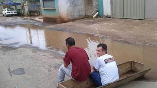 Guapó sofre com descaso do poder público