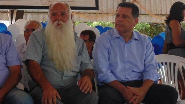 Prefeito Joaquim Duarte e o governador Marconi Perillo
