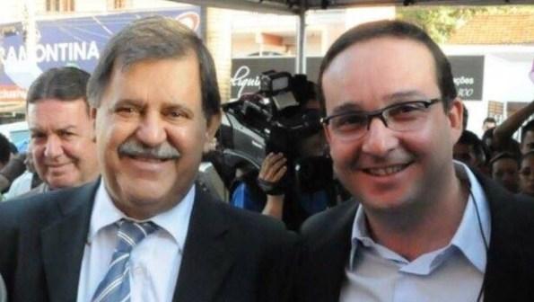 Prefeito Juraci Martins e secretário Danilo de Castro Moraes