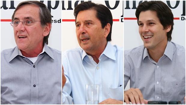 Gomide, Maguito e Daniel em aliança contra a base Marconista
