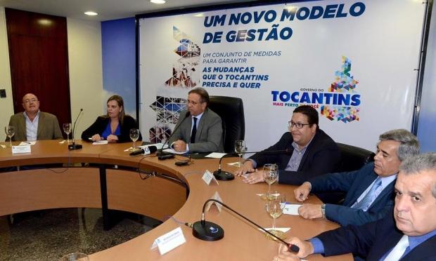 Governador anuncia mudanças no Tocantins | Foto: Secom