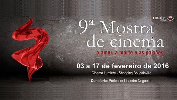 """Organização espera recorde de público na 9ª edição da mostra """"O Amor, a Morte e as Paixões"""""""