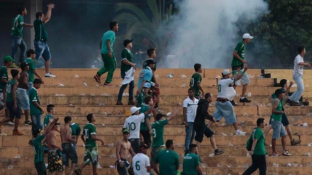 STJD reduz multa e afasta torcidas organizadas de jogos do Goiás