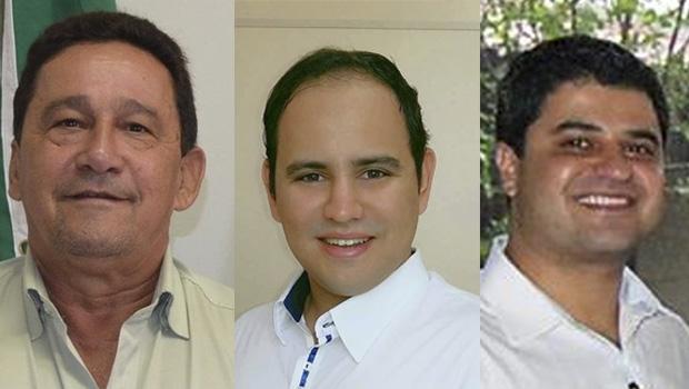 Judson Lourenço, Érick Itacarambi e João Alberto: possíveis candidatos a prefeito de Santa Helena de Goiás