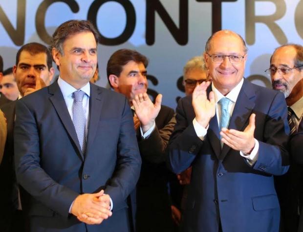Aécio Neves e Geraldo Alckmin 1