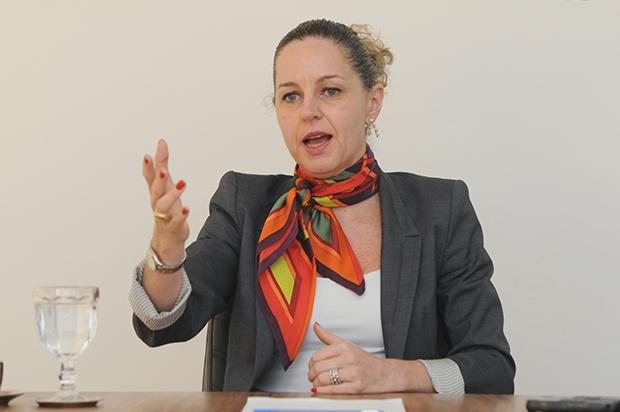 Na foto entrevista Ana Carla Abrão | Foto: Renan Accioly/Jornal Opção