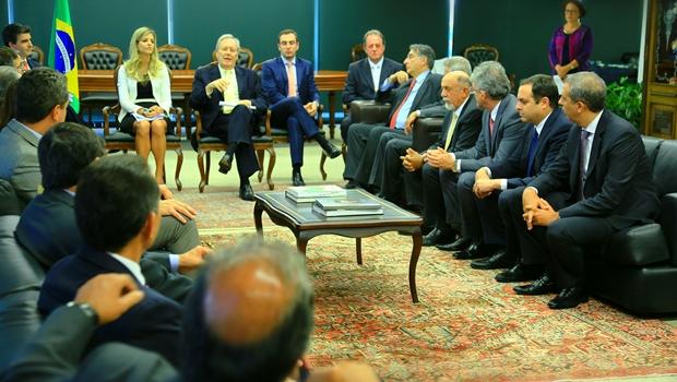 Em Brasília, governadores discutem retomada do desenvolvimento