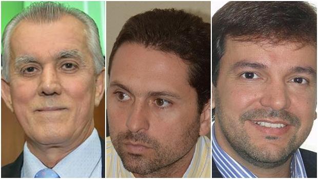 Victor Priori: pode entrar na disputa pelo PSDB; Leandro Vilela: pré-candidato pelo PMDB; Vinicius Maia: pré-candidatura oficializada pelo PTC