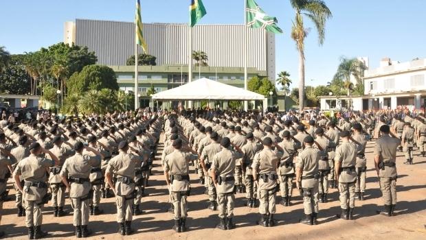 Novo secretário de Segurança Pública determina que efetivo da PM em Goiânia vá para as ruas entre as 6 horas de sexta (26) e as 6 horas de sábado (27) para combater a criminalidade na capital | Foto: Wagnas Cabral