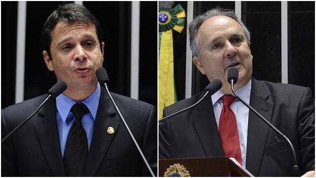 Senadores Reguffe e Cristovam Buarque deixam PDT