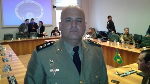 Tenente-coronel Ricardo Rocha era major quando foi investigado pela Operação Sexto Mandamento   Foto: Reprodução/Facebook