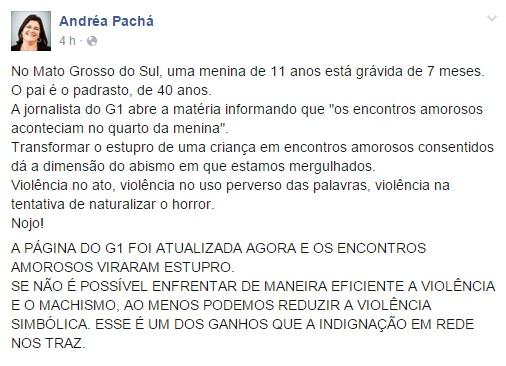 Juíza denunciou caso pelas redes sociais   Foto: Reprodução Facebook