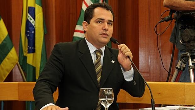 Deivison Costa (PTdoB) apresentou emenda a projeto de lei, criando novo feriado em Goiânia | Foto: Alberto Maia