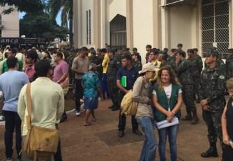 Evento reuniu centenas de pessoas na Praça Matriz, em Campinas | Foto: Marcelo Gouveia