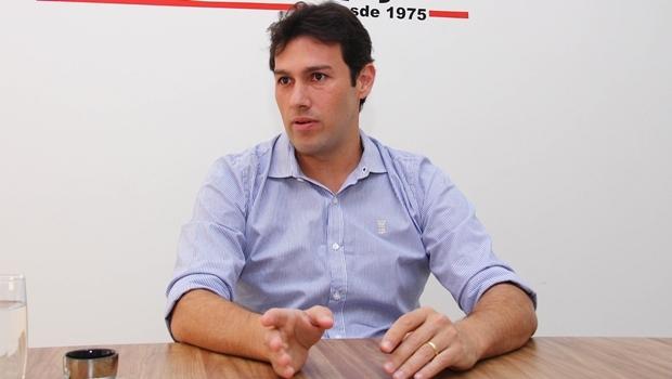 Fernando Cunha, o Fernandinho, será o candidato do PSDB | Foto: Fernando Leite / Jornal Opção