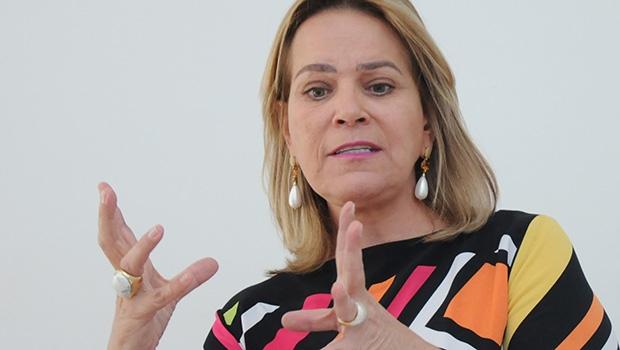 Na foto Leda Borges, Secretária Cidadã | Foto: Renan Accioly/Jornal Opção