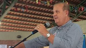 Prefeito de Goiânia, Paulo Garcia (PT), em discurso durante Dia Nacional de Mobilização contra o Zika em Goiânia| Foto: Larissa Quixabeira / Jornal Opção