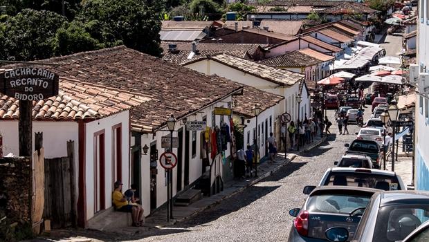 Folia do Divino Espírito Santo chega a Pirenópolis após percorrer fazendas do interior