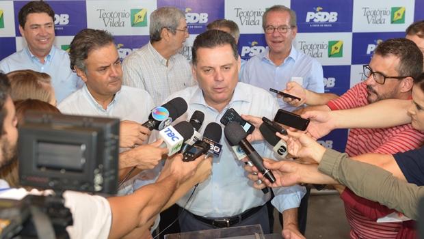 Marconi Perillo apoia o impeachment: 13 deputados federais e 2 senadores defendem a saída de Dilma