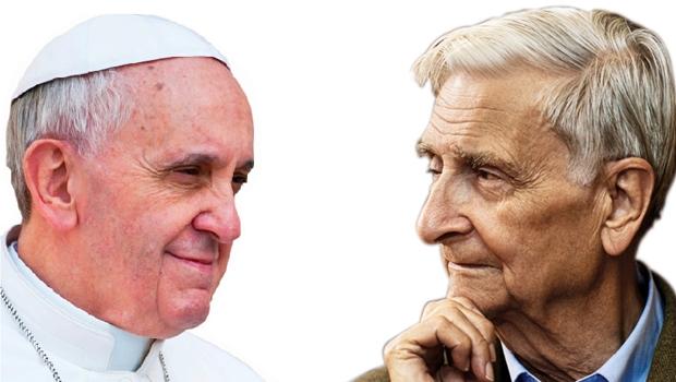 """Francisco, o papa que não é apenas um guia religioso: """"O desafio de proteger a nossa casa comum é urgente""""; Edward O. Wilson, biólogo não-cristão: """"Como fazemos parte da Criação, o destino da Criação é o destino da humanidade"""""""