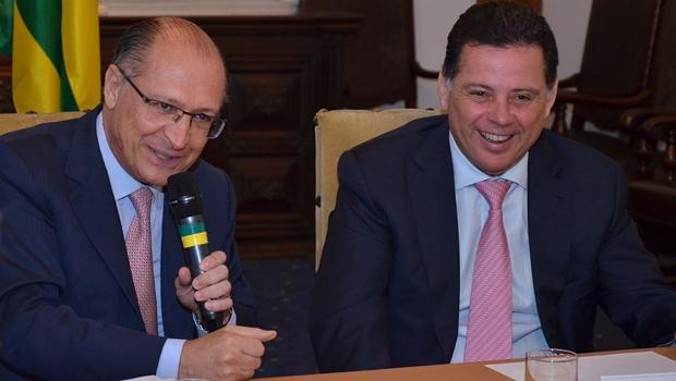 Marconi e Alckmin assinam acordo tecnológico entre SED e USP