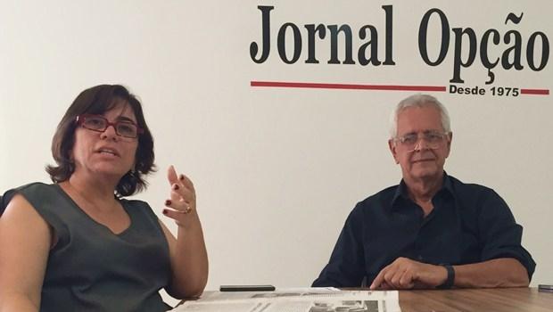 Presidente e vice-presidente do CAU, Arnaldo Mascarenhas e Maria Ester