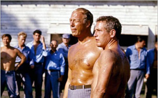 George kennedy e Paul Newman_l