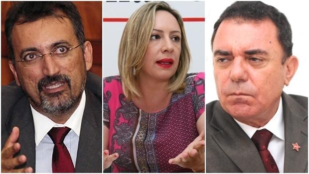 Parlamentares do PT comentaram saída do PMDB do governo federal | Fotos: Fernando Leite/Jornal Opção