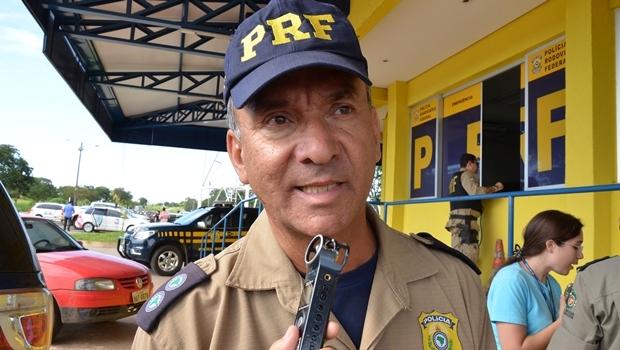 Inspetor Newton Morais, da PRF, será candidato a vereador na capital pelo PSB   Foto: Divulgação
