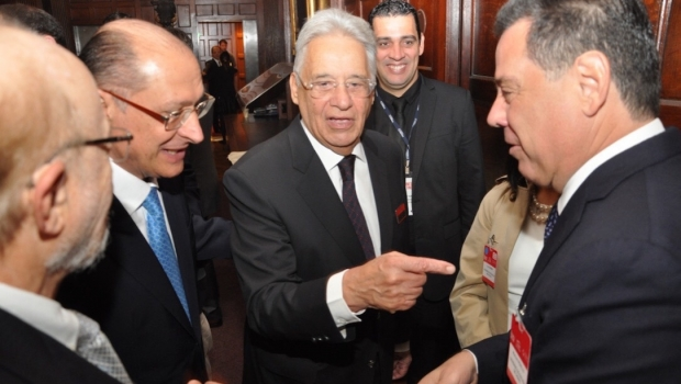 Marconi Perillo e FHC falam de sucessão presidencial. O decano diz que o PSDB terá candidato a presidente