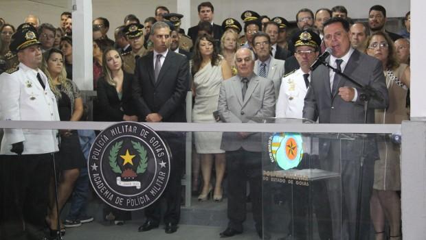 """""""Faço uma advertência àqueles que são fora da lei: deixem Goiás"""", diz Marconi"""