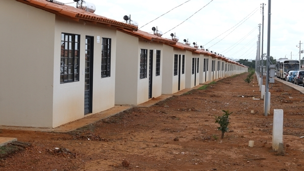 Casas entregues em Luziânia | Foto: Wesley Costa