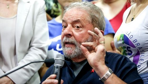 São Paulo 04/04/2016- Ex-Presidente Lula, durante entrevista a imprensa na sede do PT Nacional. Foto: Paulo Pinto/Fotos Públicas