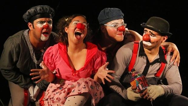 Peça Clowns-Tô-Folia faz parte da programação do Festival Razões Para Sonhar, que acontecem em Caldas Novas a partir de segunda (14/3) | Foto: Luria Correa