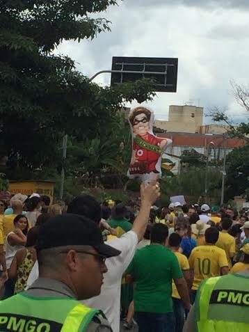 Protesto Dilma Rousseff