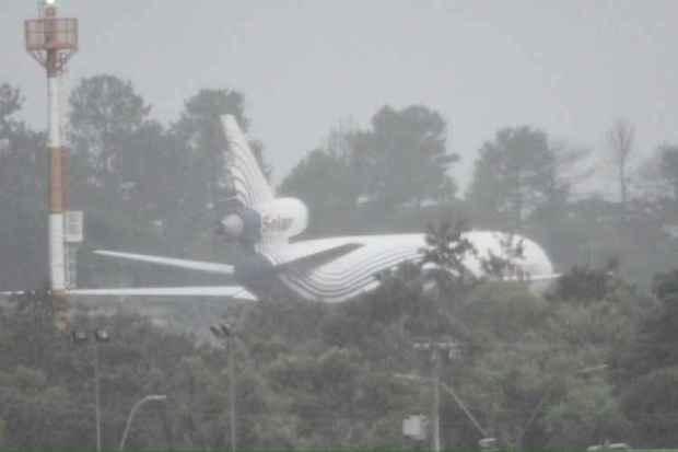 O que fazia um avião-cargueiro da Venezuela no Aeroporto de Brasília?