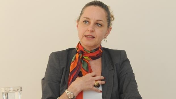 Secretária Ana Carla Abrão em entrevista ao Jornal Opção | Foto: Renan Accioly / Jornal Opção