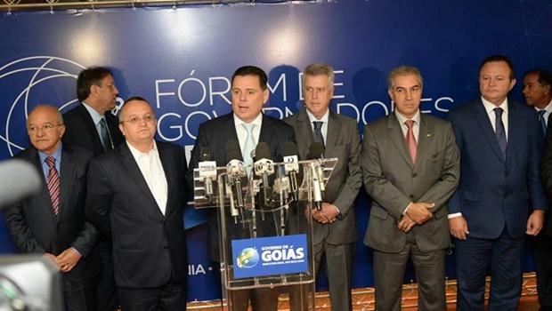 Novo encontro do Fórum de Governadores do Brasil Central foca em infraestrutura e logística