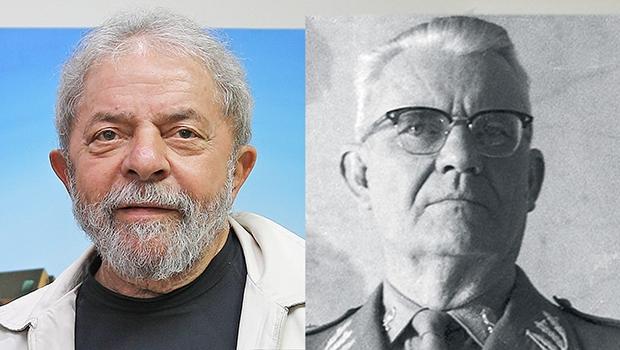 Lula da Silva e Ernesto Geisel: o primeiro tem medo de depor e precisa ser levado à força; o segundo, quando intimado, compareceu ao foro e depôs sobre Paulo Maluf e ex-auxiliares e respondeu a todas as perguntas