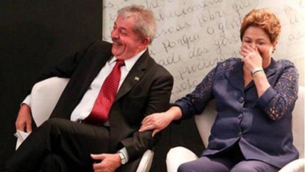 Lula da Silva e Dilma Rousseff: manter o grupo político dos petistas no poder equivale a enterrar a sociedade