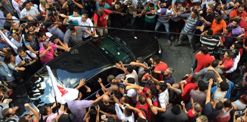 Condução coercitiva de Lula para depor foi ilegal e contrariou ordem de Sérgio Moro