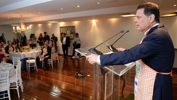 Cerimônia de abertura da 11ª edição do Festival Gastronômico de São Simao | Foto: Wagnas Cabral / Gabinete Imprensa